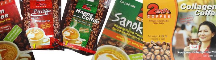 sản phẩm cà phê 2 Zero được bán khắp thị trường Việt Nam & Hoa Kỳ