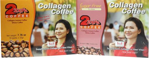 Cà phê hòa tan 2 Zero Collagen