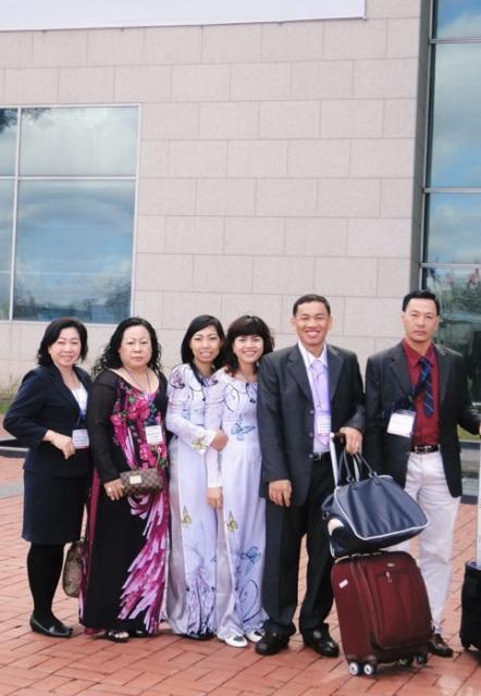 Đoàn dự triển lãm Đài Bắc của Công ty Intermix